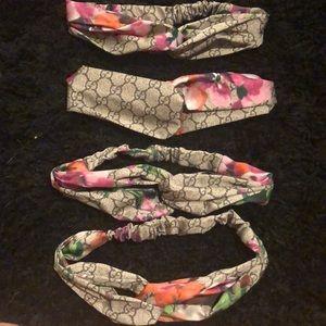 1 Gucci silk headband